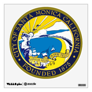 Santa Monica Seal Wall Decor
