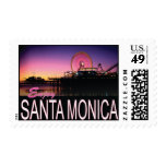 Santa Mónica, sello de CA los E.E.U.U.