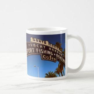Santa Monica Sign Mug
