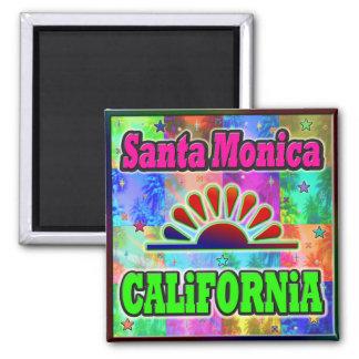 Santa Mónica Sun y imán de las palmas