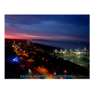 SANTA MONICA SUNRISE #2 POSTCARD