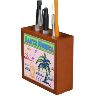 """""""Santa Monica"""" Surfer Beach Deskorganizer Desk Organizer"""