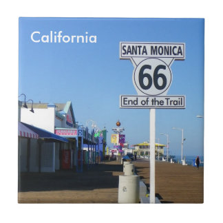 ¡Santa Mónica - teja de la ruta 66!