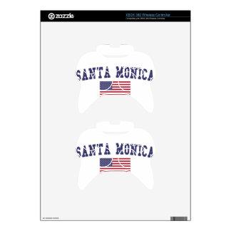 Santa Monica US Flag Xbox 360 Controller Decal