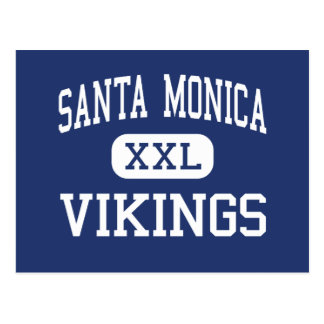 Santa Monica - Vikings - High - Santa Monica Postcard