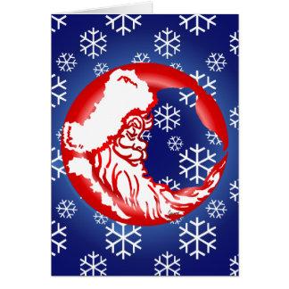 Santa MoonBlank Card