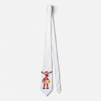 Santa Moose Tie