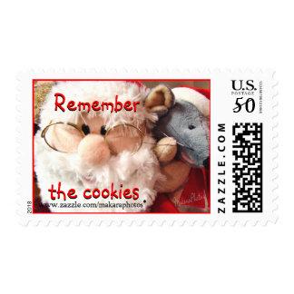 Santa & Mouse Stamp Reg size  customize