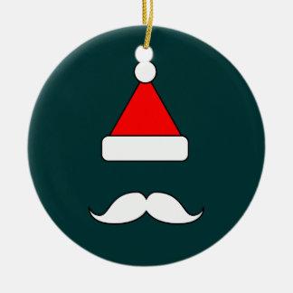 Santa Moustache Ornaments