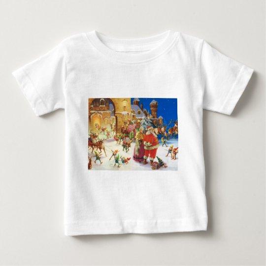 SANTA & MRS. CLAUS AT THE NORTH POLE BABY T-Shirt