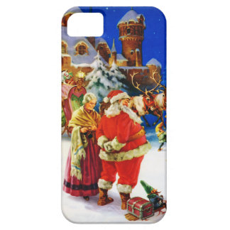 Santa & Mrs. Claus at the North Pole Christmas Eve iPhone SE/5/5s Case