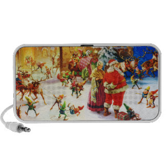 Santa & Mrs. Claus at the North Pole Christmas Eve Travelling Speaker