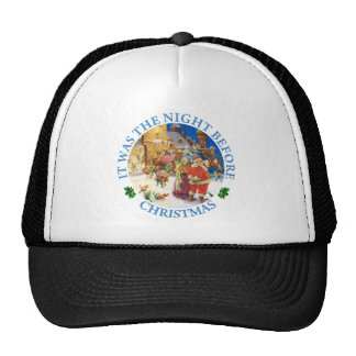Santa & Mrs. Claus At the North Pole Christmas Eve Trucker Hat