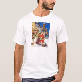 SANTA & MRS.CLAUS AT THEIR NORTH POLE CASTLE T-Shirt