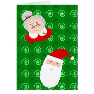 Santa & Mrs Claus Card
