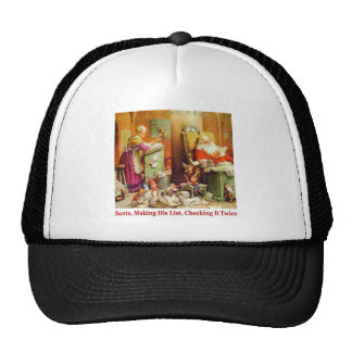 Santa & Mrs. Claus Read Mail at the North Pole Trucker Hat