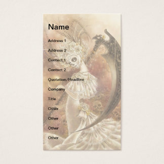 Santa Muerte Businesscard Business Card