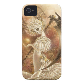 Santa Muerte iPhone 4/4S Barely There Case