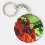 Santa Muerte Keychain