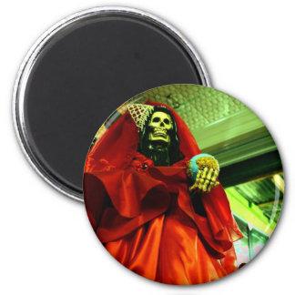 Santa Muerte Fridge Magnets
