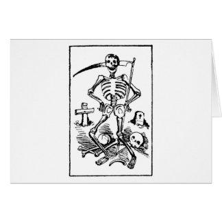 Santa Muerte, Mexican Grim Reaper c. early 1900s Card