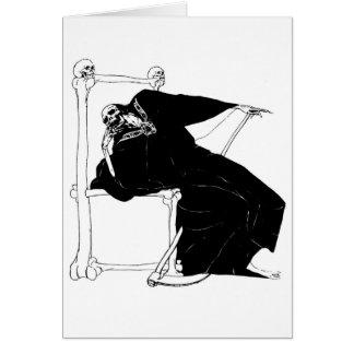 """""""Santa Muerte"""" (Mexican Grim Reaper) Card"""