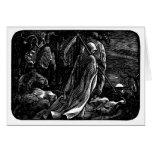 Santa Muerte (Mexican Grim Reaper) Card