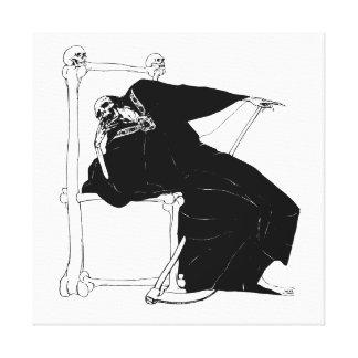 Santa Muerte (Mexican Grim Reaper) circa 1929 Canvas Print