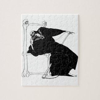 Santa Muerte (Mexican Grim Reaper) circa 1929 Jigsaw Puzzle