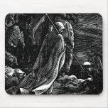 Santa Muerte (Mexican Grim Reaper) circa 1939 Mousepads