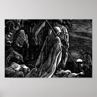 Santa Muerte (Mexican Grim Reaper) circa 1939 Poster