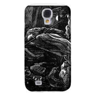 Santa Muerte (Mexican Grim Reaper) circa 1939 Samsung Galaxy S4 Cover