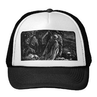 Santa Muerte (Mexican Grim Reaper) circa 1939 Trucker Hat
