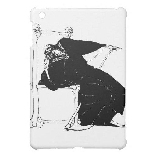 """Santa Muerte"" (Mexican Grim Reaper) iPad Mini Covers"