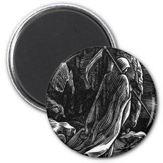 Santa Muerte (Mexican Grim Reaper) Fridge Magnets