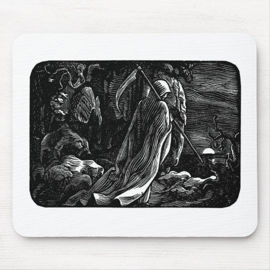 Santa Muerte (Mexican Grim Reaper) Mouse Pad