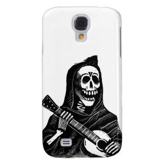 Santa Muerte (Mexican Grim Reaper) Playing Guitar Samsung Galaxy S4 Case