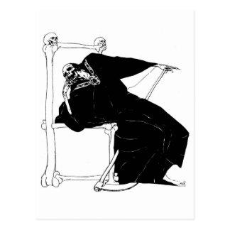 """Santa Muerte"" (Mexican Grim Reaper) Postcard"