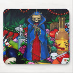 Santa Muerte Mousepad Tapete De Raton