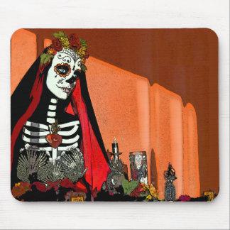 Santa Muerte Mousepad Tapetes De Ratones