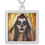 Santa muerte custom jewelry