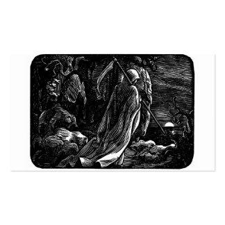 Santa Muerte (parca mexicano) Tarjetas De Visita