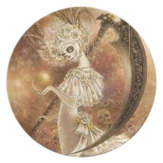 Santa Muerte Plate plate