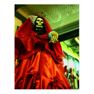 Santa Muerte Postcard