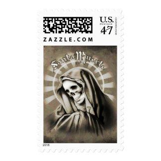 Santa Muerte Stamp