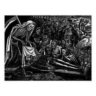 Santa Muerte y el soldado C. México 1951 Póster