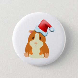 Santa Muffin Button