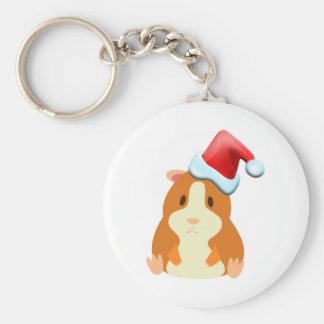 Santa Muffin Keychain