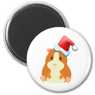 Santa Muffin Magnet