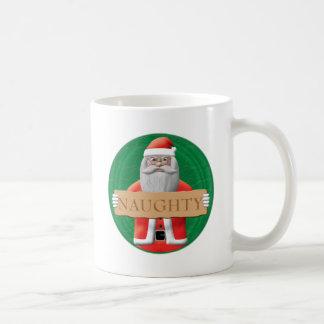 Santa - Naughty Sign Mug